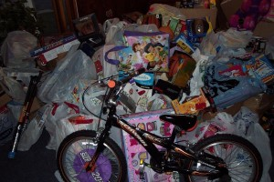 Christmas Toy Drive and Wrapping 2011