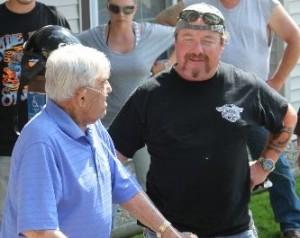 Paul 'MATTY' Mathews with Mr. Pine